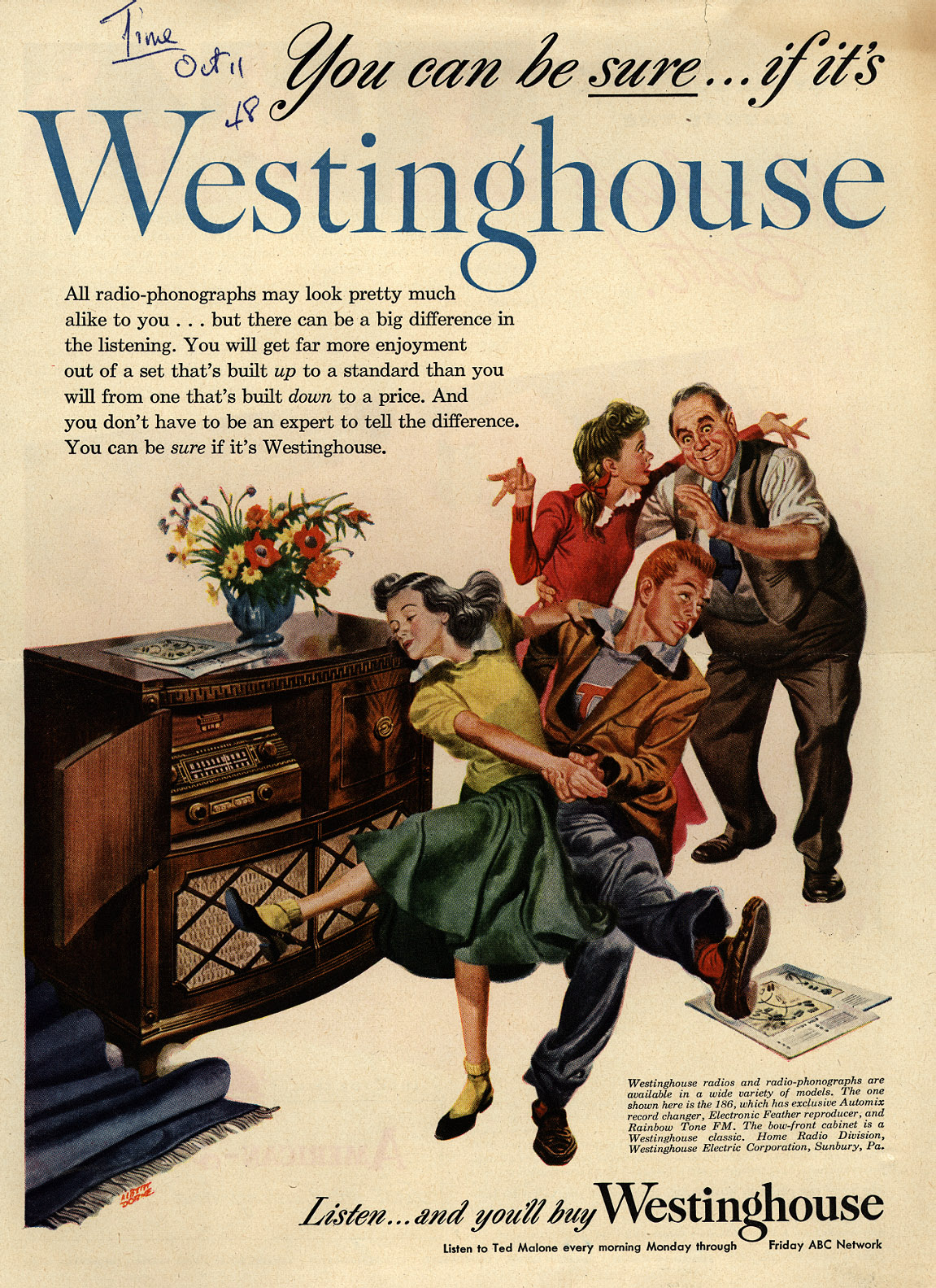Westinghouse Time Capsules: You Can Be Sure...if It's Westinghouse