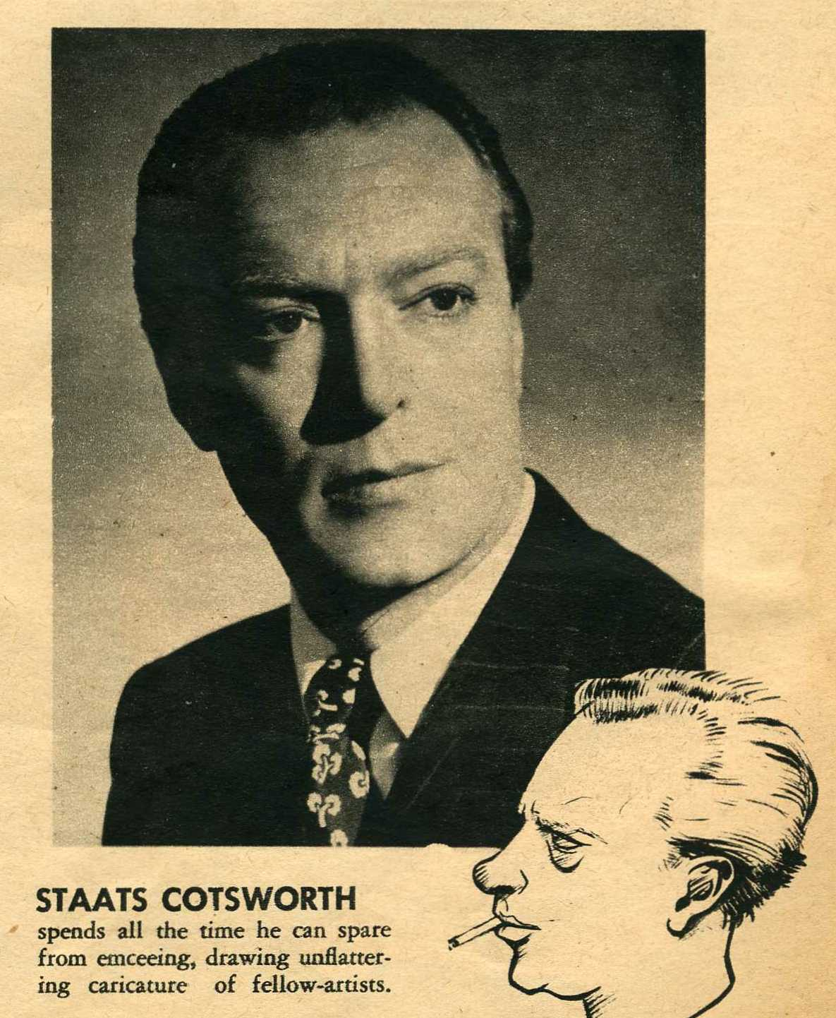 Staats Cotsworth Net Worth
