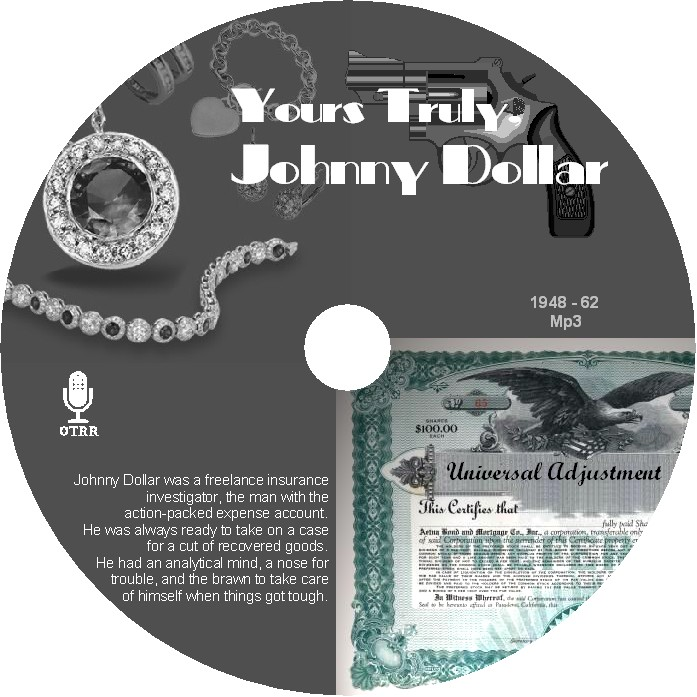 Yours Truly, Johnny Dollar : Wayward Matters (2013, CD)