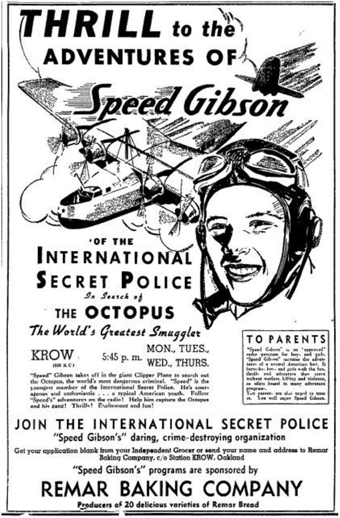 Speed Gibson Of The International Secret Police