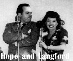Bob Hope and Frances Langford