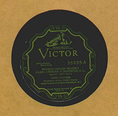 Coolidge Victor Label
